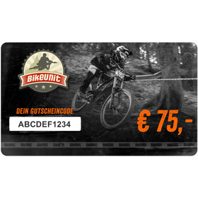 Bikeunit Geschenkgutschein 75 €
